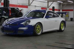 Porsche with a new custom repairs.